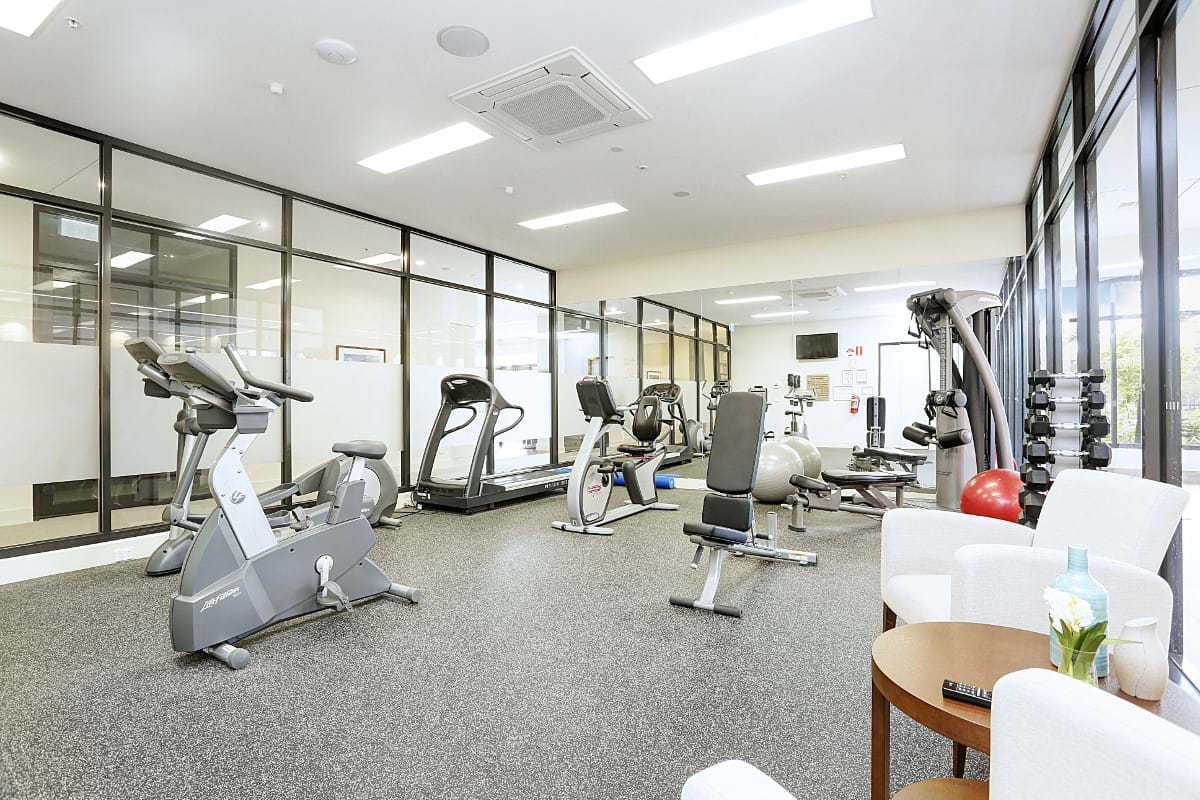 Retirement Living Facilities Gym