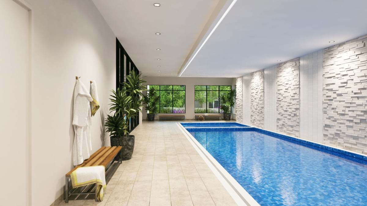Retirement Living Facilities Pool Spa